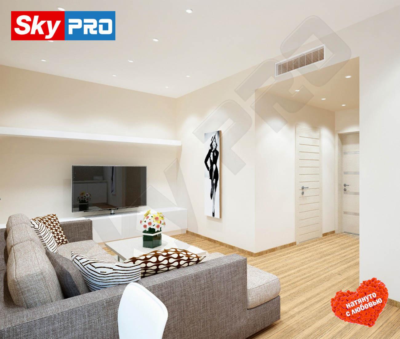 Белый матовый натяжной потолок Экстра цена за метр